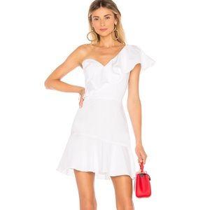 Amanda Uprichard Vanderbilt One shoulder Dress